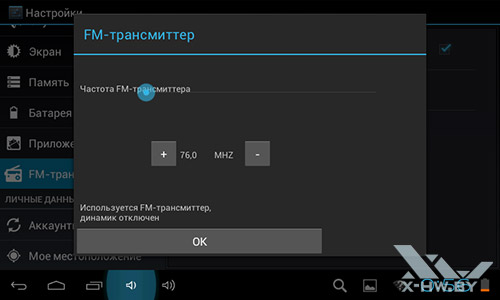 Параметры FM-трасмиттера Lexand STA-7.0. Рис. 2