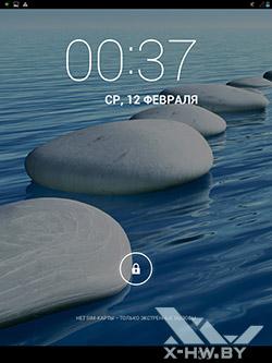 Экран блокировки bb-mobile Techno 7.85 3G