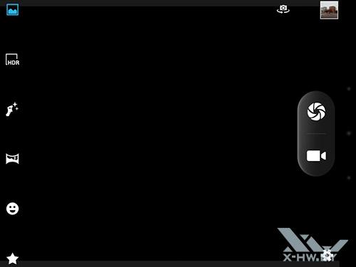 Интерфейс камеры bb-mobile Techno 7.85 3G