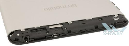Разъемы для SIM-карты и карты microSD на bb-mobile Techno 7.85 3G