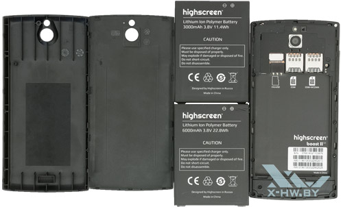 Аккумуляторы и крышки для Highscreen Boost 2 SE