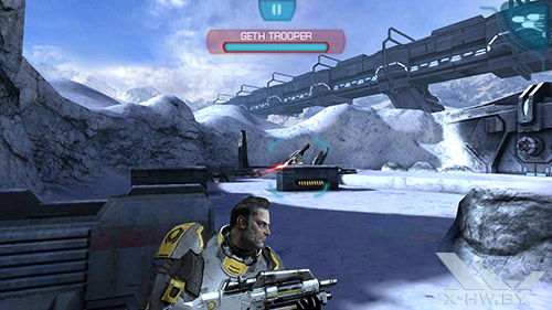 Игра Mass Effect на Highscreen Boost 2 SE