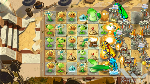 Игра Plants vs Zombies 2 на Highscreen Boost 2 SE