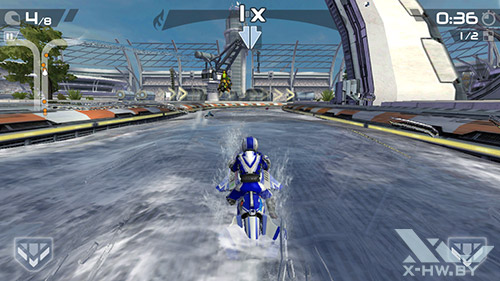 Игра Riptide GP2 на Highscreen Boost 2 SE