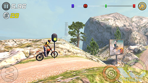 Игра Trial Xtreme 3 на Highscreen Boost 2 SE