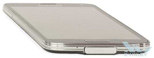 Нижний торец Samsung Galaxy S5