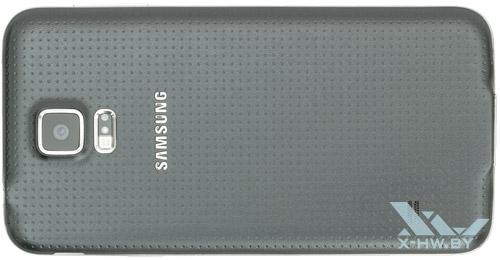 Samsung Galaxy S5. Вид сзади