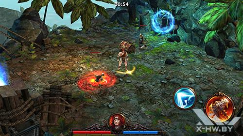 Eternity Warriors 3 на Samsung Galaxy S5