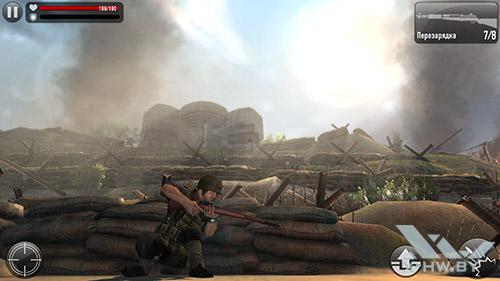 Frontline Commando: Normandy на Samsung Galaxy S5