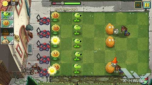 Plants vs Zombies 2 на Samsung Galaxy S5