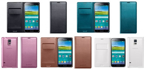 Чехол Flip Wallet для Samsung Galaxy S5