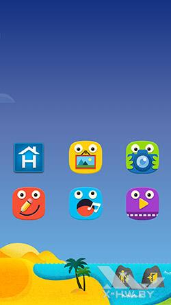 Режим Дети на Samsung Galaxy S5. Рис. 1