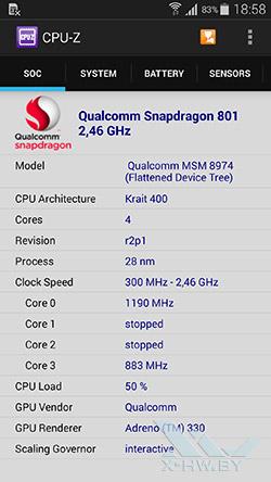 Процессор Samsung Galaxy S5 SM-G900F