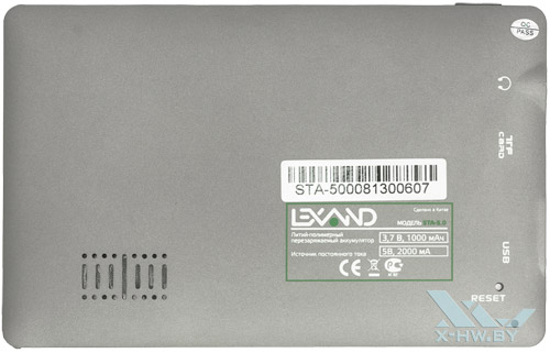 Задняя крышка Lexand STA-5.0