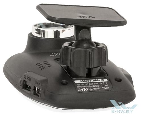 BlackSys CF-100 GPS 2CH. Вид сверху