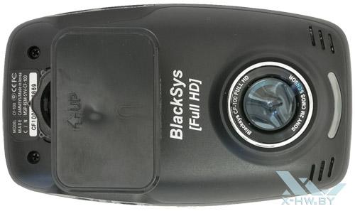 BlackSys CF-100 GPS 2CH. Тыльная сторона