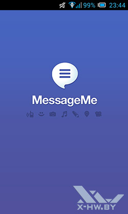 MessageMe. Рис. 1