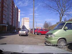 Пример съемки видеорегистратором AdvoCam-FD7 Profi. Рис. 2