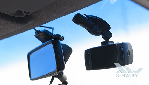 AdvoCam-FD7 Profi-GPS. На ветровом стекле
