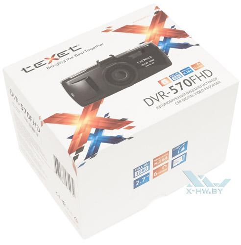 Коробка Texet DVR-570FHD