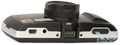 Texet DVR-570FHD. Вид сверху