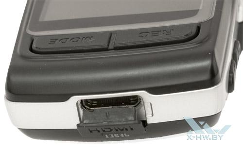 Выход mini-HDMI на Texet DVR-570FHD