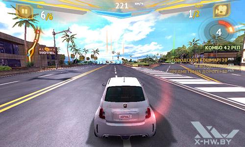 Игра Riptide Asphalt 7 на Highscreen Zera F