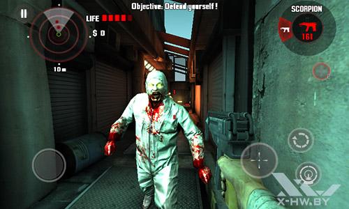 Игра Dead Trigger на Highscreen Zera F