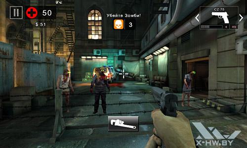 Игра Dead Trigger 2 на Highscreen Zera F