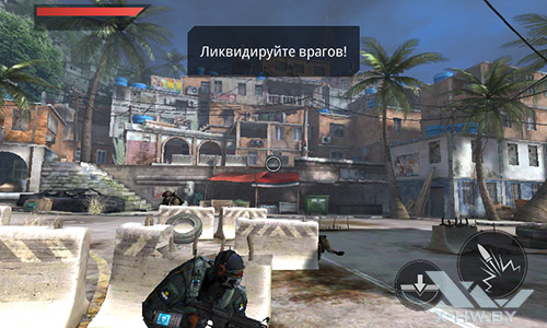 Игра Frontline Commando 2 на Highscreen Zera F