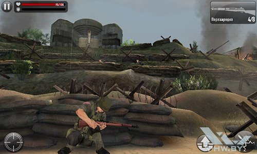 Игра Frontline Commando: Normandy на Highscreen Zera F