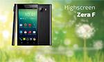 Дешевый смартфон за 4000 рублей - Highscreen Zera F