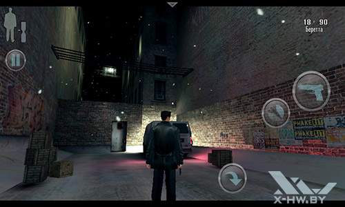 Игра Max Payne Mobile на Highscreen Zera F