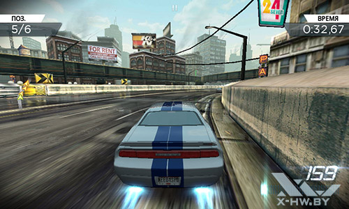 Игра Nead for Speed: Most Wanted на Highscreen Zera F