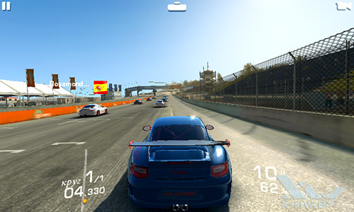 Игра Reacl Racing 3 на Highscreen Zera F