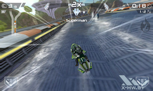 Игра Riptide GP2 на Highscreen Zera F
