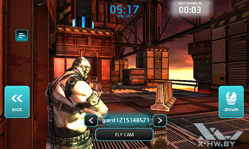 Игра Shadowgun: Dead Zone на Highscreen Zera F