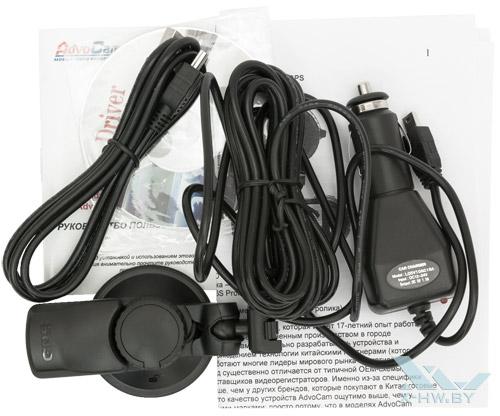 Комплектация AdvoCam-FD6S Profi-GPS