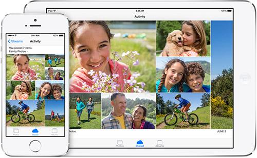 Семейный доступ в iOS 8. Рис. 2