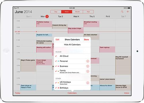 Семейный доступ в iOS 8. Рис. 3