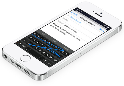 Клавиатура в iOS 8. Рис. 3