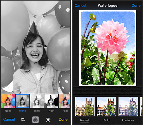 Photos в iOS 8. Рис. 4