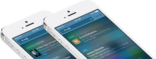 Spotlight в iOS 8