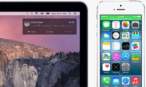 Принятие звонка в iOS 8