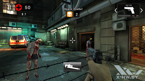 Игра Dead Trigger 2 на Lenovo P780