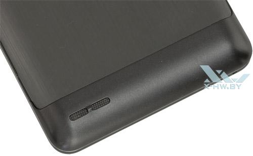 Динамик на заднем торце Lenovo P780