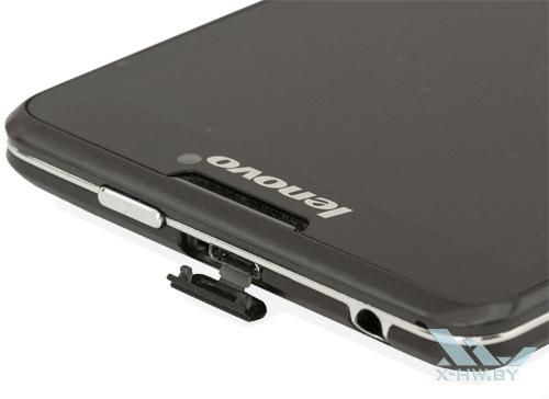 Разъем microUSB на Lenovo P780