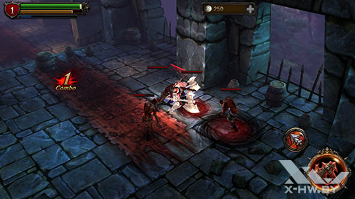 Игра Eternity Warriors 2 на Lenovo P780