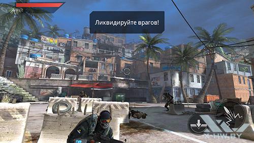 Игра Frontline Commando 2 на Lenovo P780