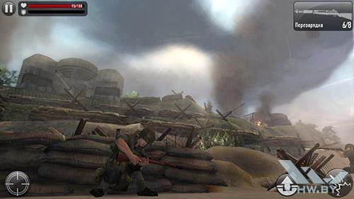 Игра Frontline Commando: Normandy на Lenovo P780